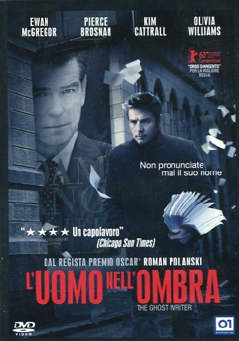 L'UOMO NELL'OMBRA - THE GHOST WRITER (DVD)