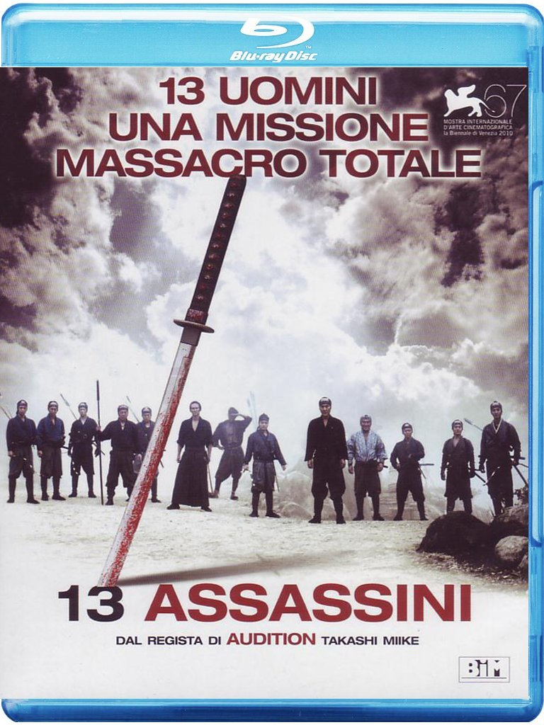 13 ASSASSINI (BLU-RAY )