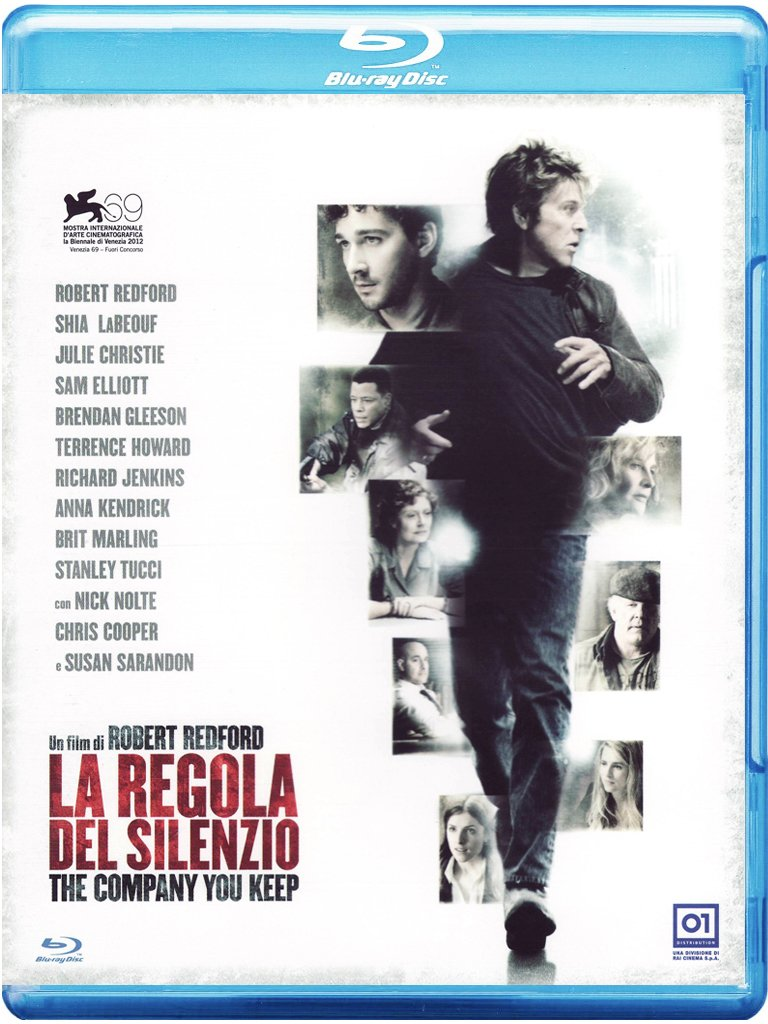 LA REGOLA DEL SILENZIO - THE COMPANY YOU KEEP (BLU-RAY)