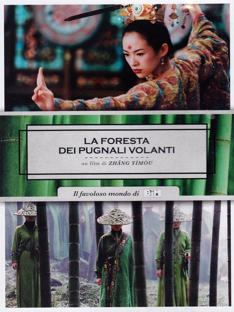 LA FORESTA DEI PUGNALI VOLANTI (DVD)