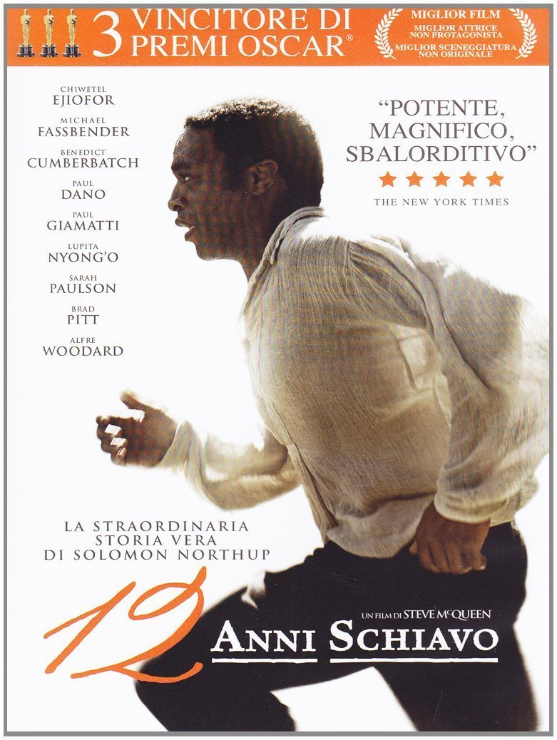 12 ANNI SCHIAVO (DVD)