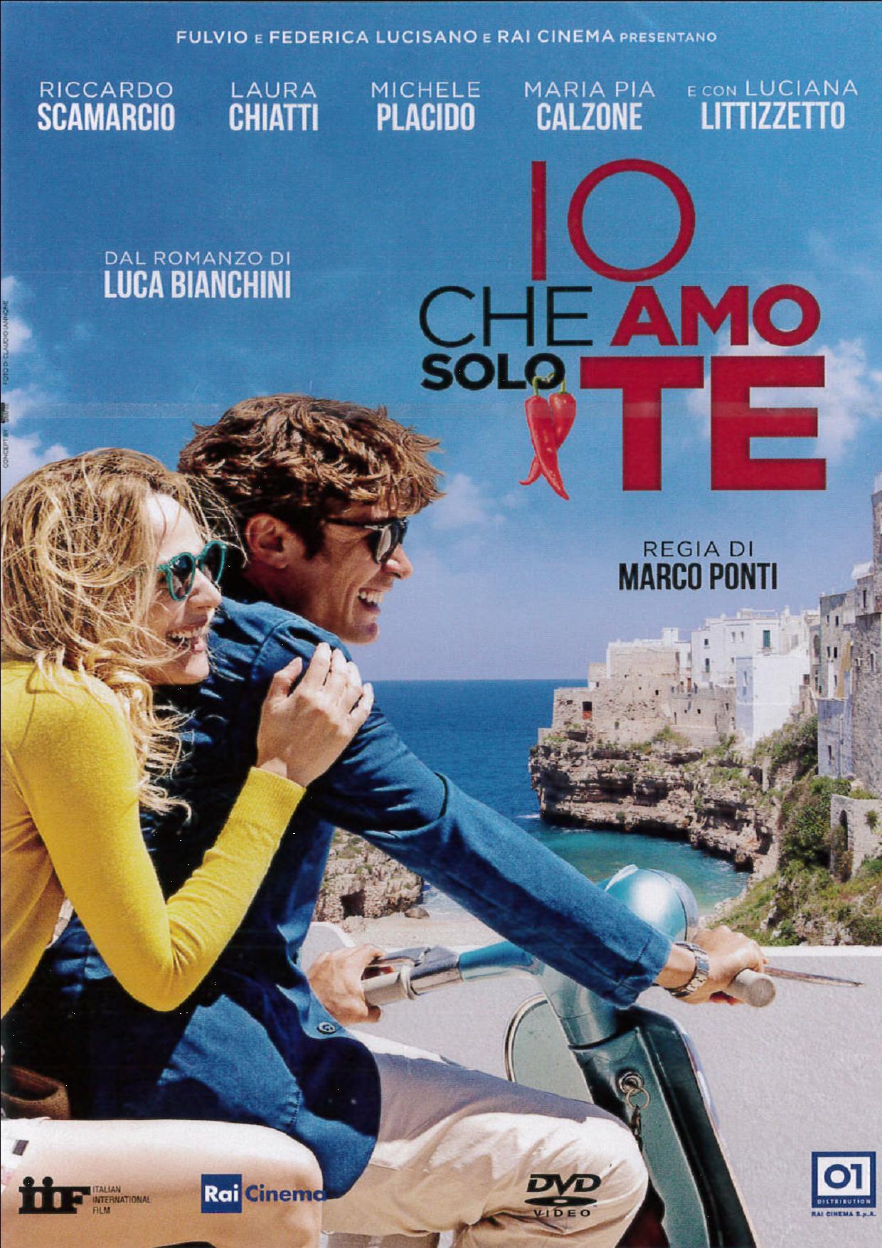 IO CHE AMO SOLO TE (DVD)