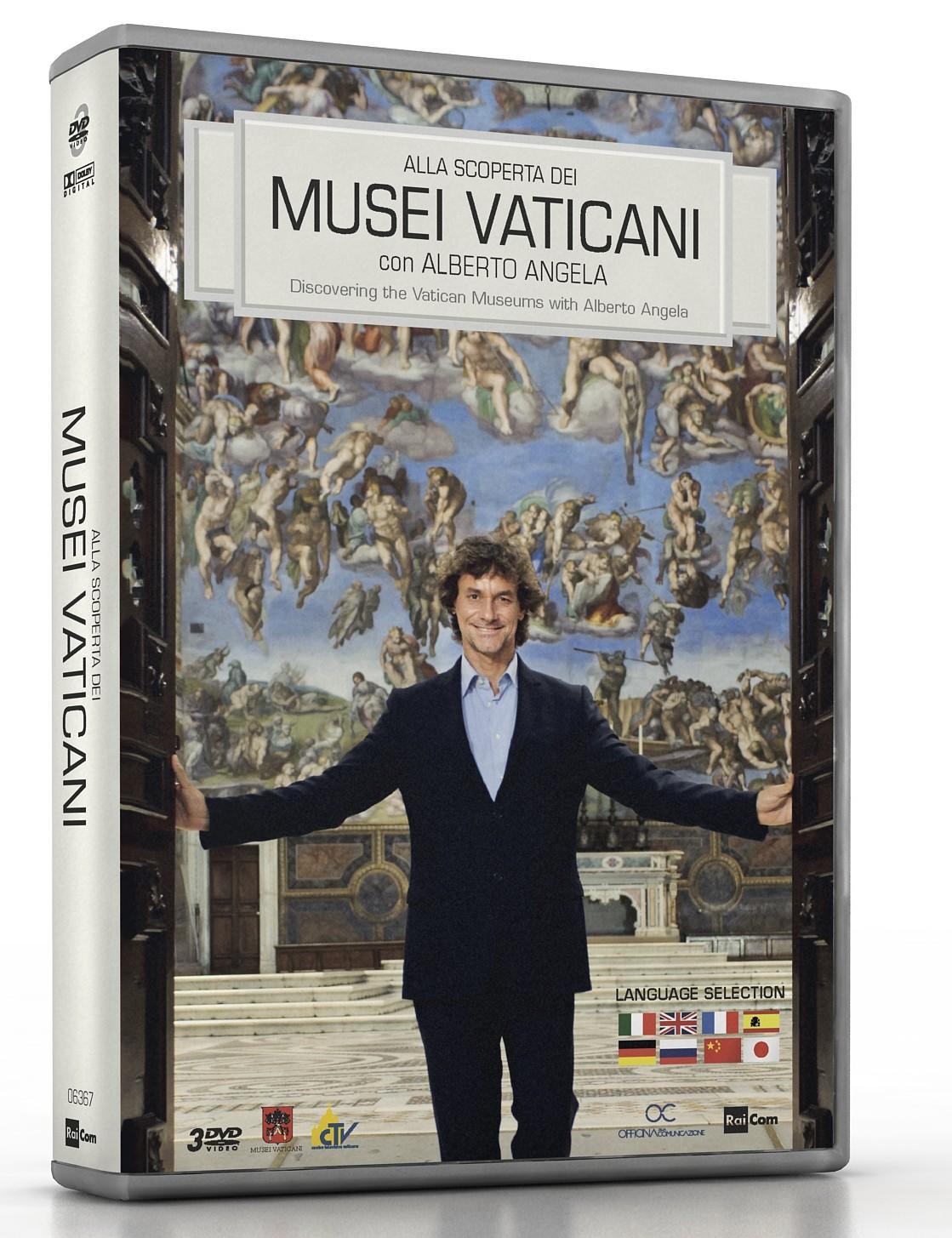 COF.ALLA SCOPERTA DEI MUSEI VATICANI (3 DVD) (DVD)