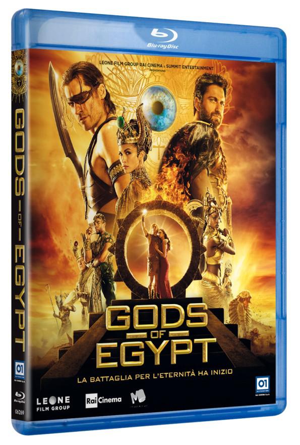 GODS OF EGYPT (BLU RAY)