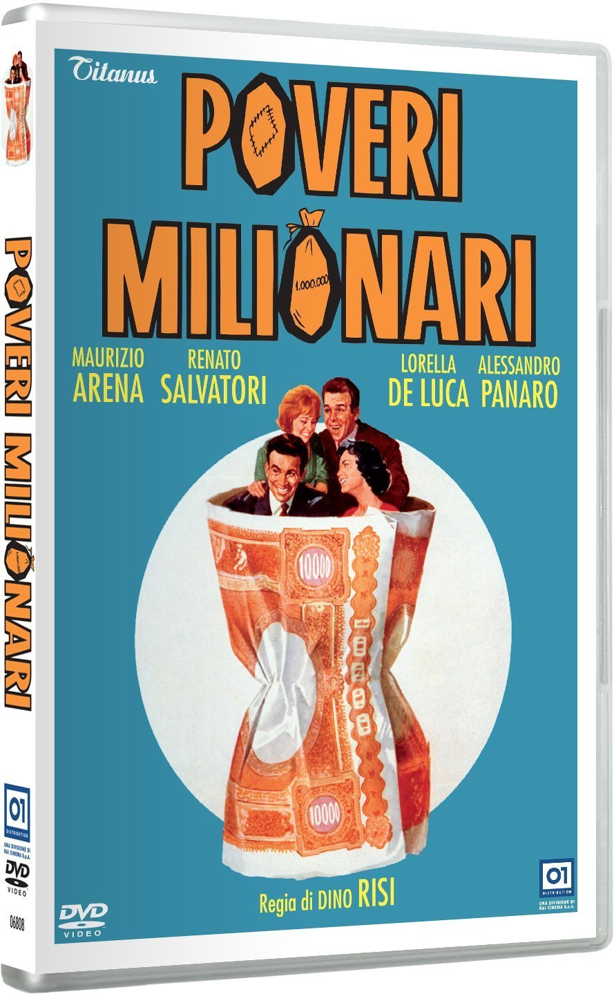 POVERI MILIONARI - RMX (DVD)