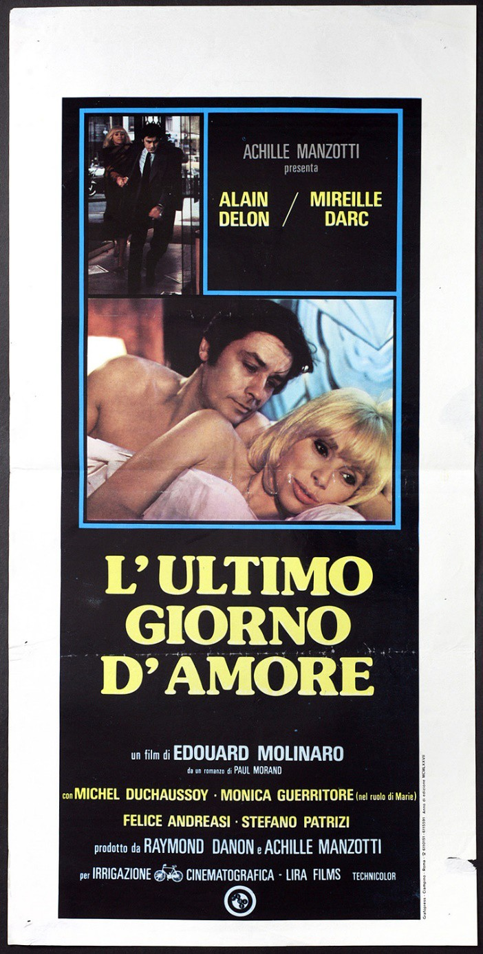 L'ULTIMO GIORNO D'AMORE (DVD)