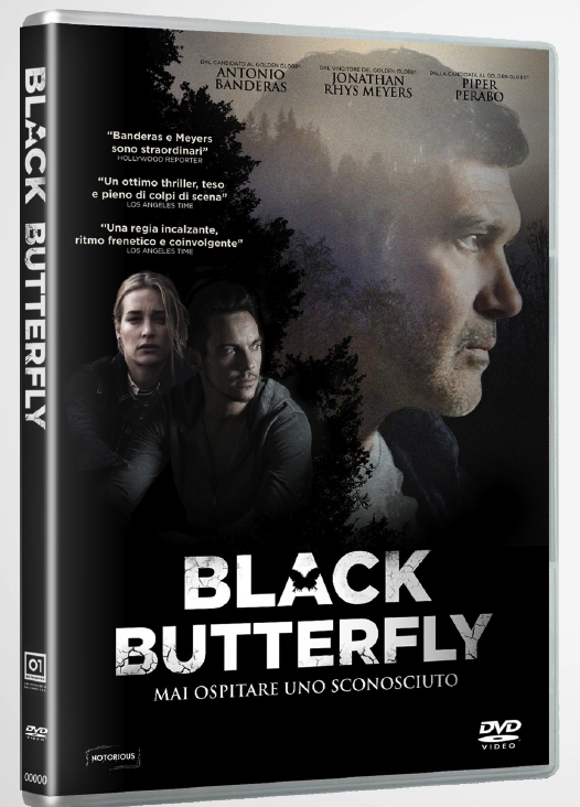 BLACK BUTTERFLY (DVD)