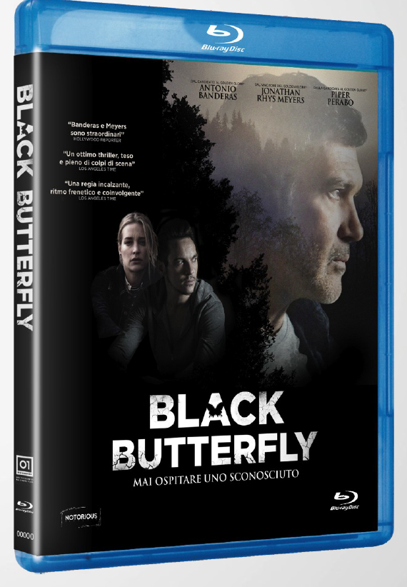 BLACK BUTTERFLY - BLU RAY