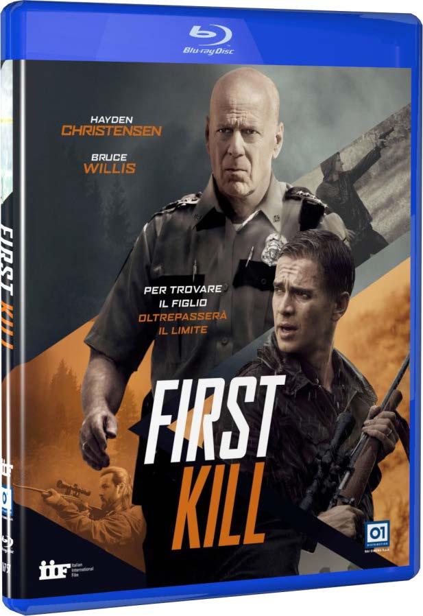 FIRST KILL - BLU RAY