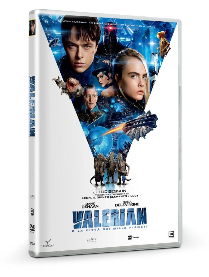 VALERIAN E LA CITTA' DEI MILLE PIANETI (DVD)