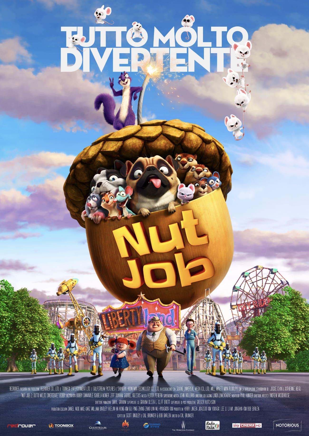 NUT JOB - TUTTO MOLTO DIVERTENTE (DVD)