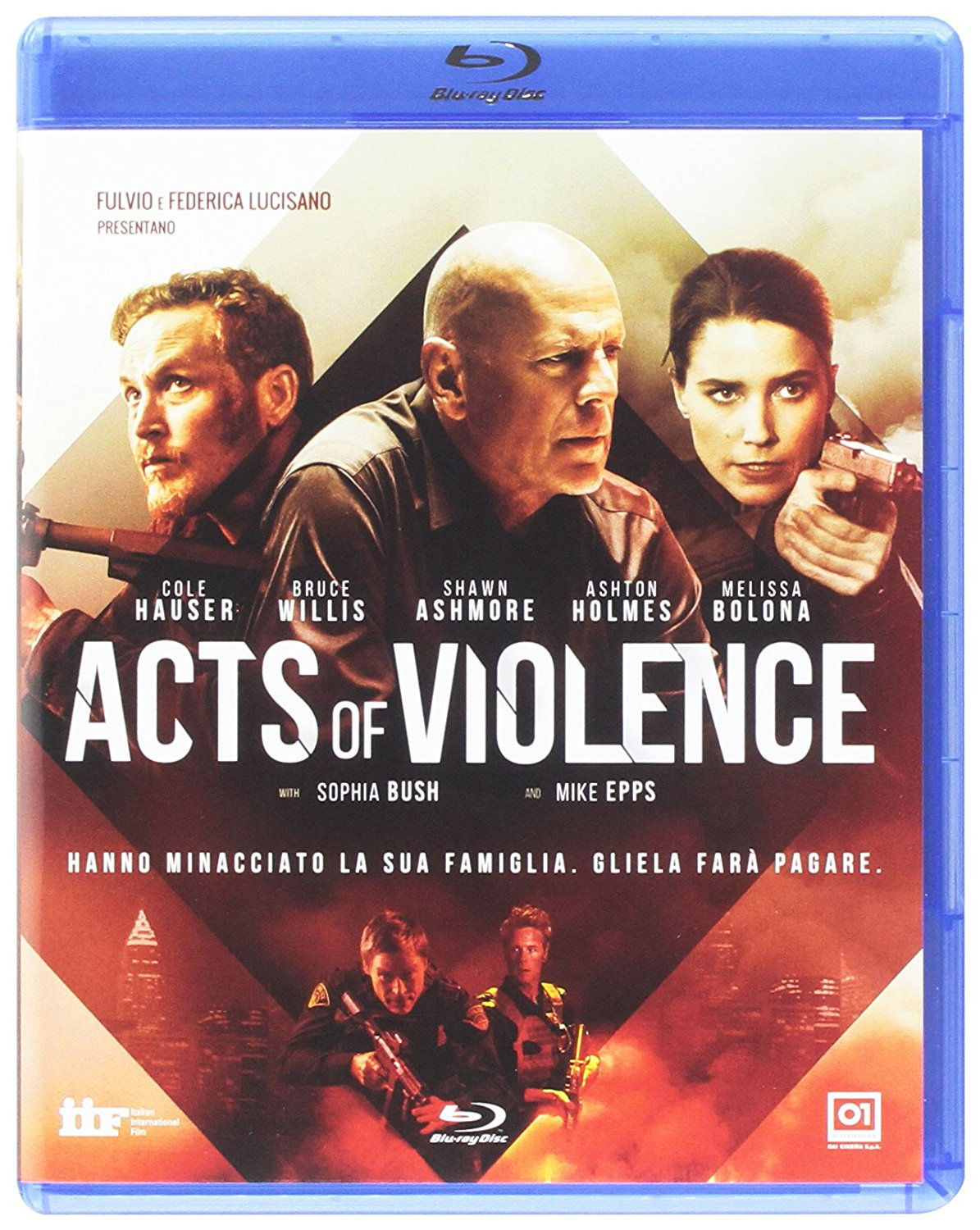ACTS OF VIOLENCE - BLU RAY