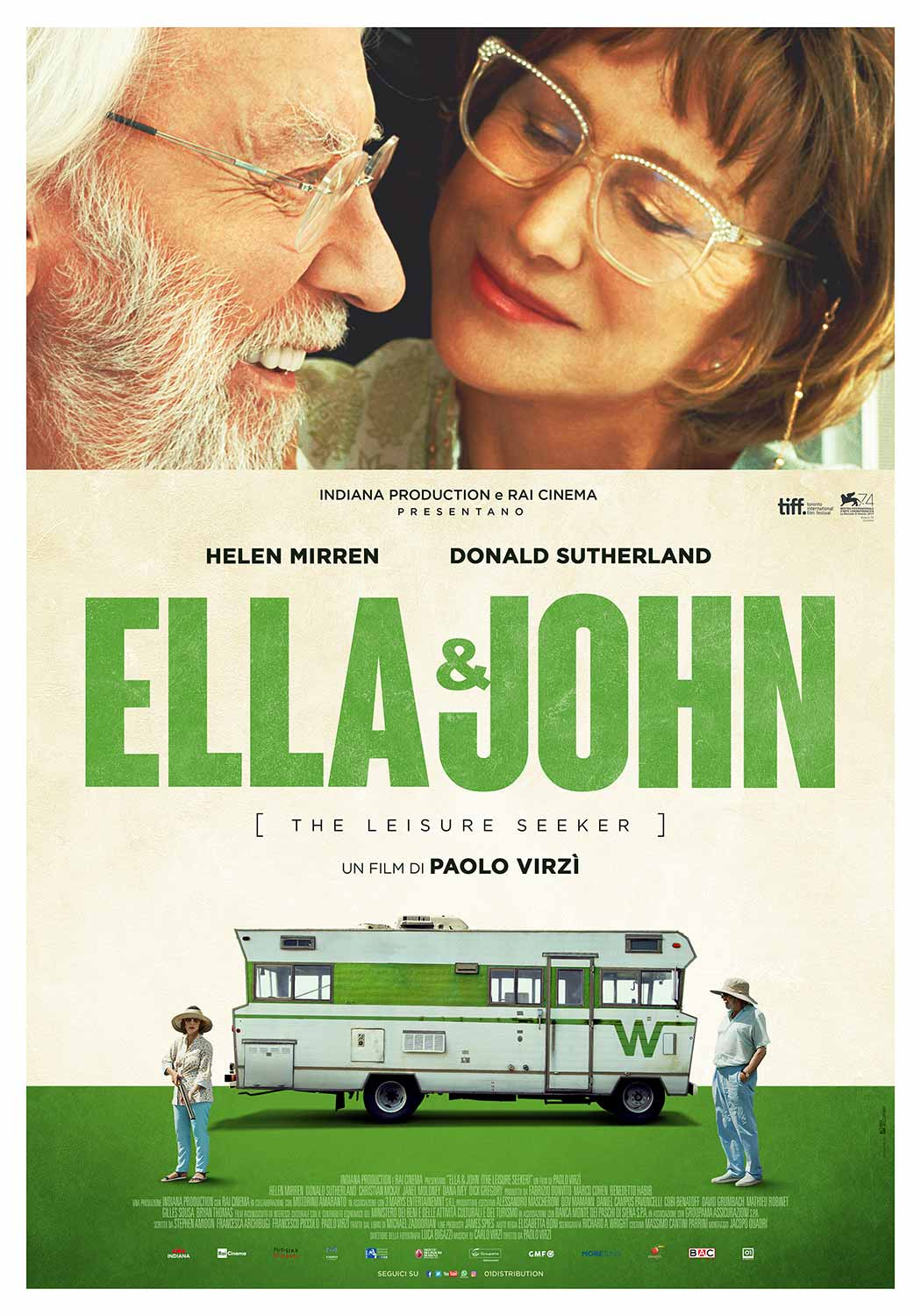 ELLA & JOHN - THE LEISURE SEEKER (DVD)