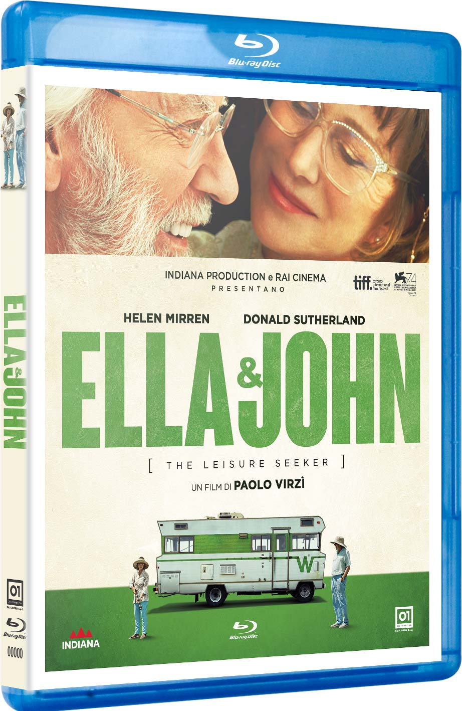 ELLA & JOHN - THE LEISURE SEEKER - BLU RAY