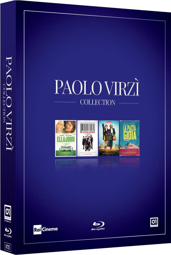 COF.PAOLO VIRZI' COLLECTION (4 BLU-RAY)