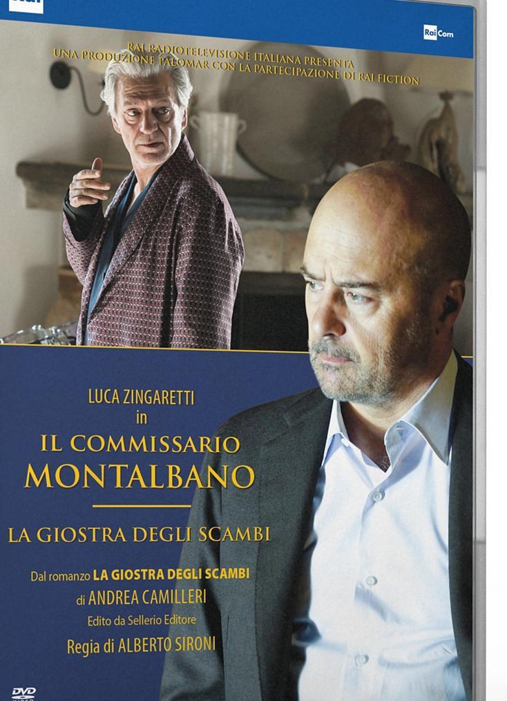 IL COMMISSARIO MONTALBANO - LA GIOSTRA DEGLI SCAMBI (DVD)