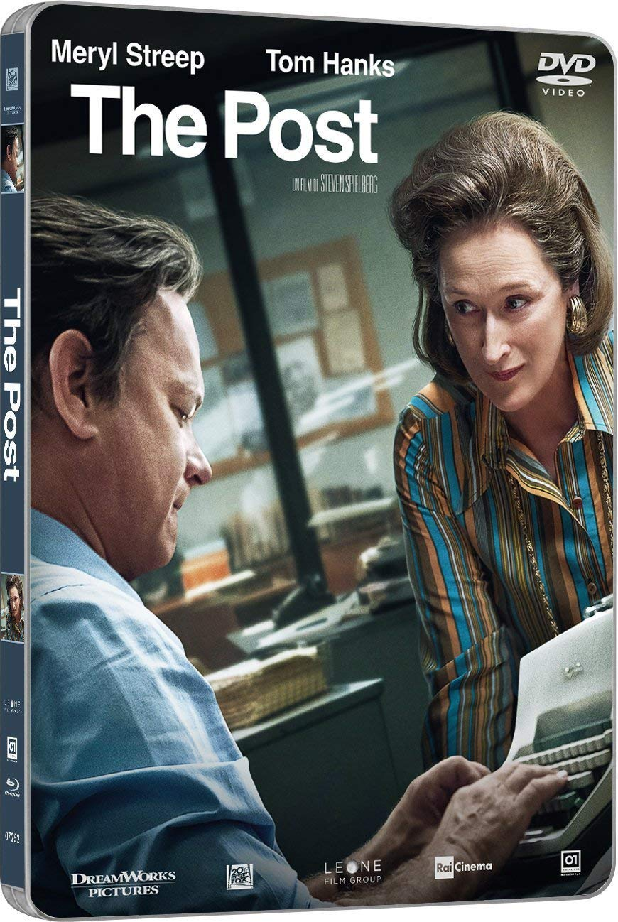 THE POST (STEELBOOK) (DVD)