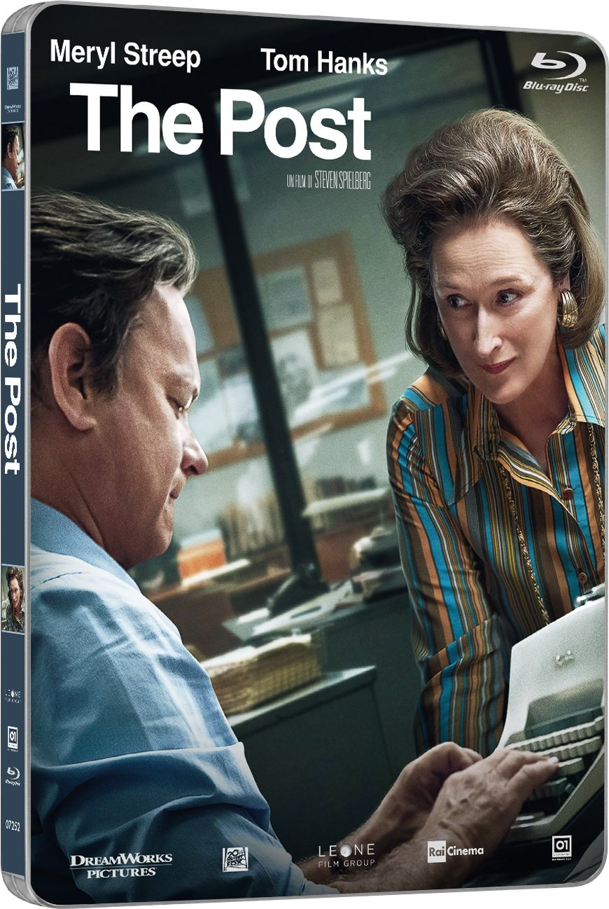 THE POST (STEELBOOK) - BLU RAY