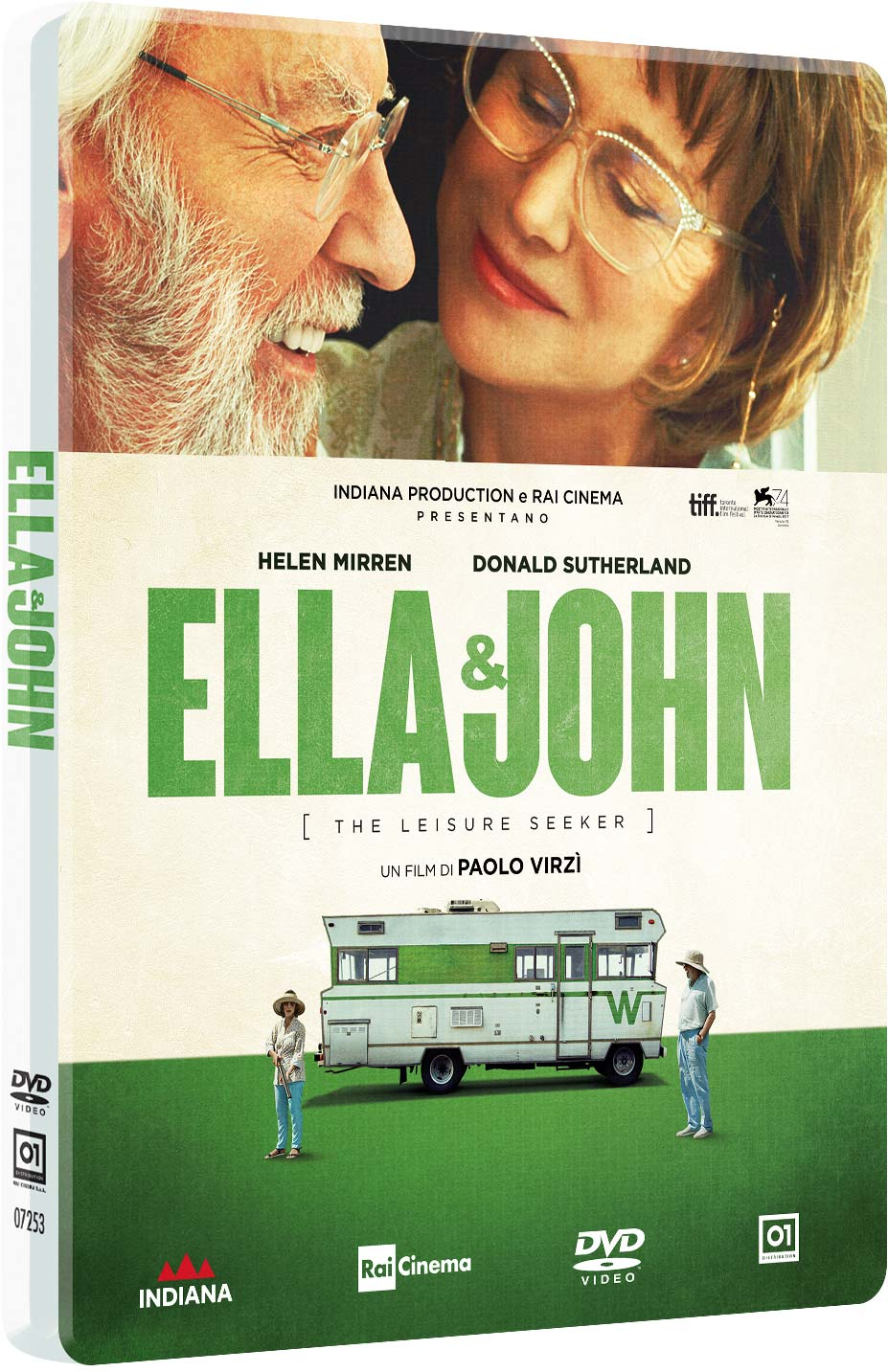 ELLA & JOHN - THE LEISURE SEEKER (STEELBOOK) (DVD)