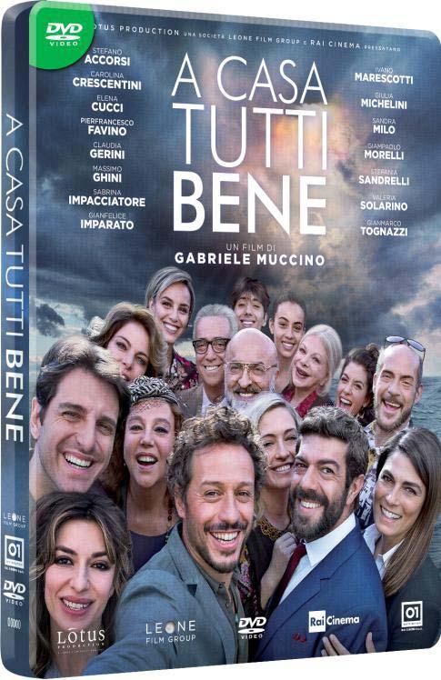 A CASA TUTTI BENE - STEELBOOK (DVD)
