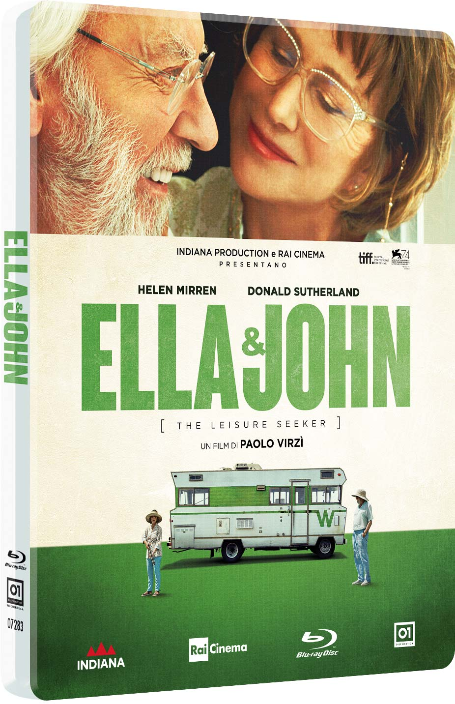 ELLA & JOHN - THE LEISURE SEEKER (STEELBOOK) - BLU RAY