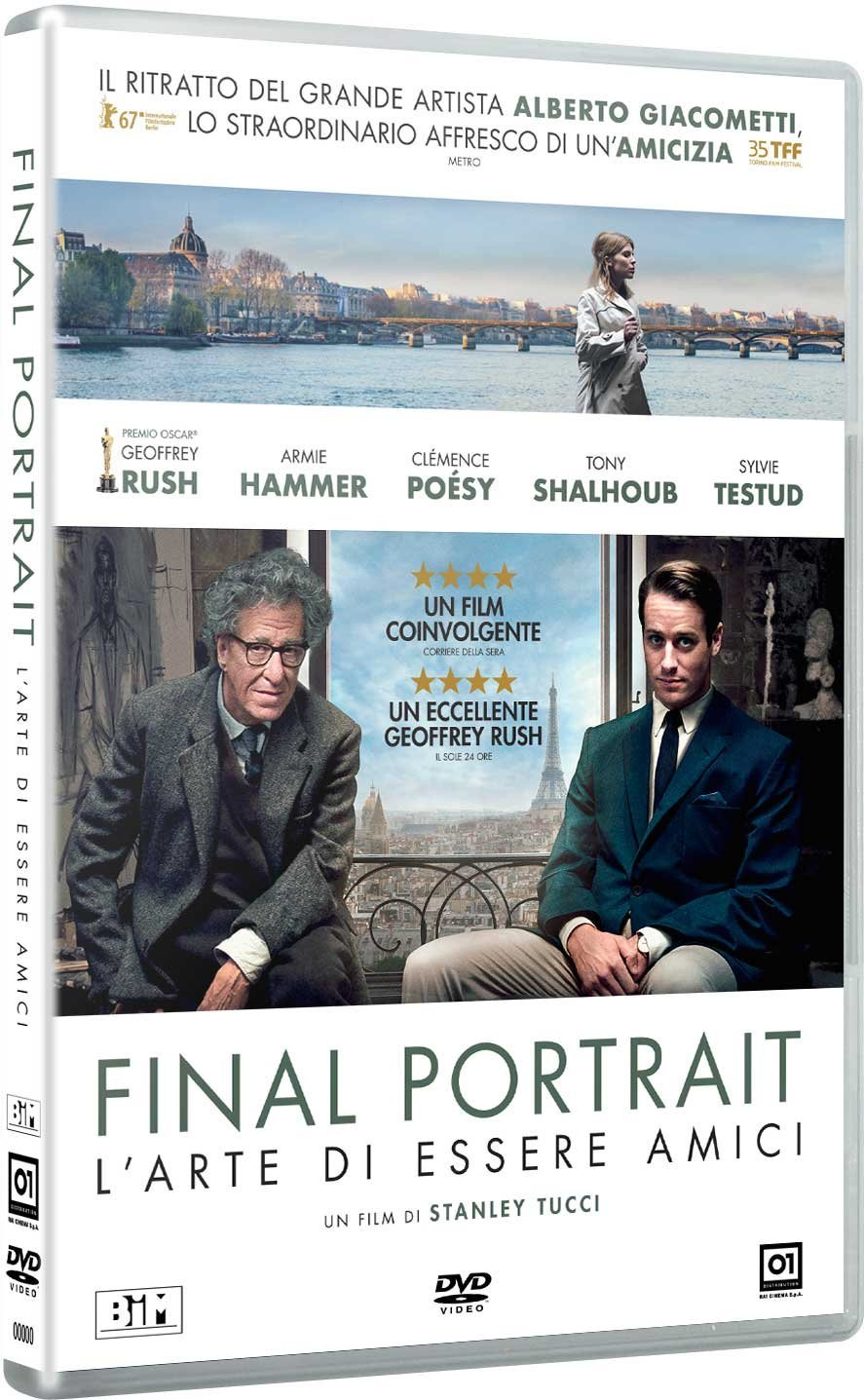 FINAL PORTRAIT - L'ARTE DI ESSERE AMICI (DVD)