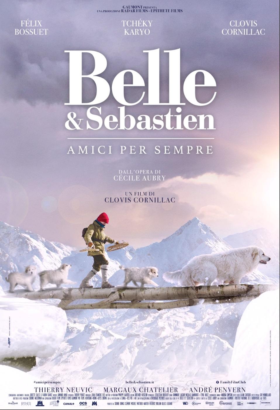 BELLE & SEBASTIEN - AMICI PER SEMPRE (DVD)