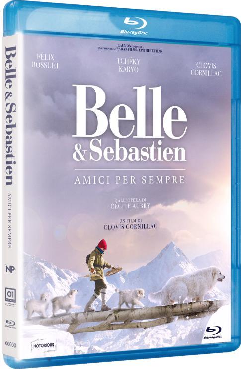 BELLE & SEBASTIEN - AMICI PER SEMPRE - BLU RAY