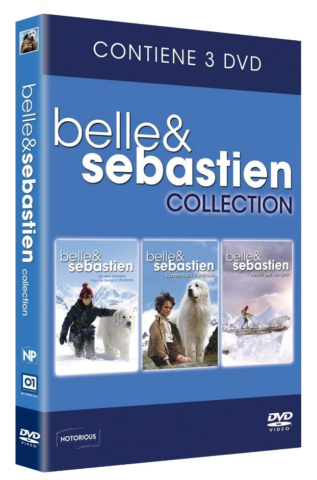 COF.BELLE & SEBASTIEN COLLECTION (3 DVD) (DVD)