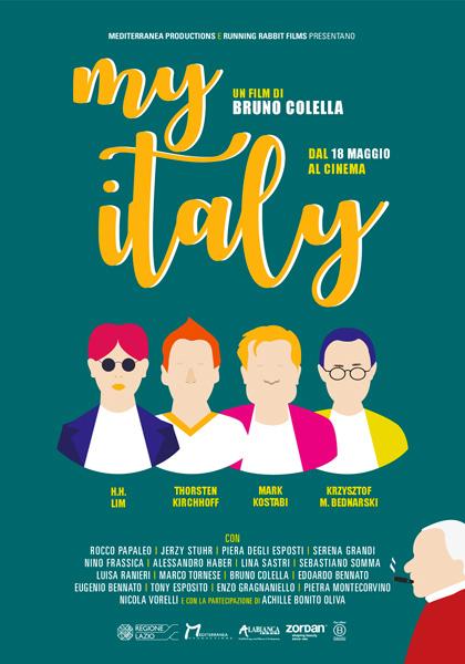 MY ITALY (DVD)