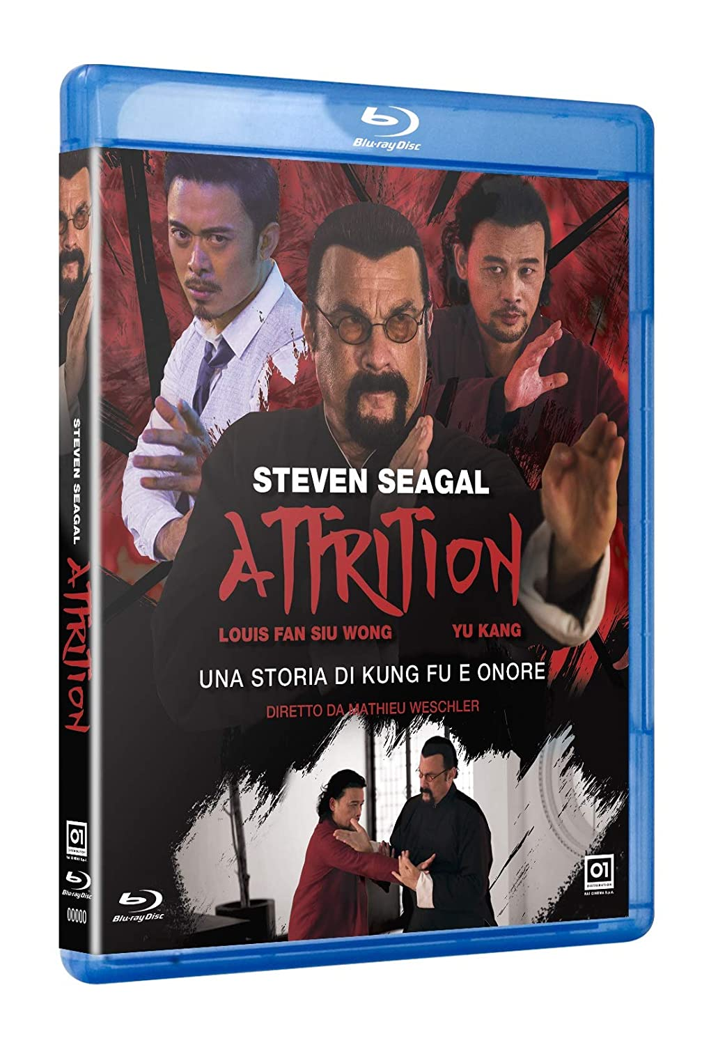 ATTRITION - BLU RAY