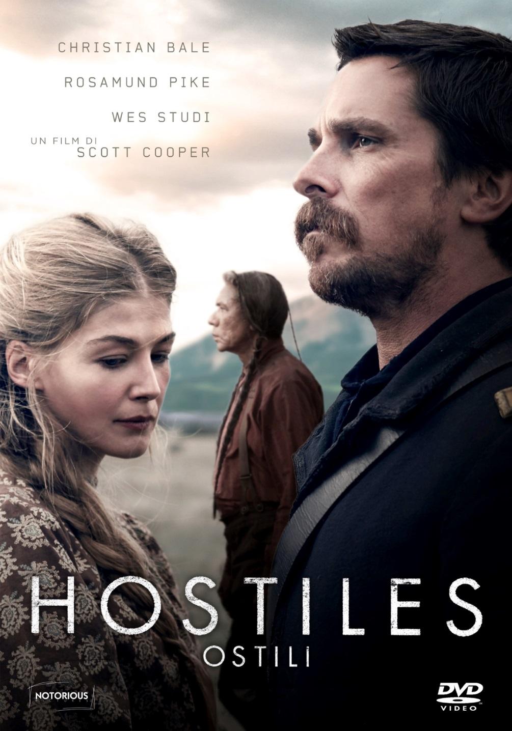 HOSTILES - OSTILI (DVD)