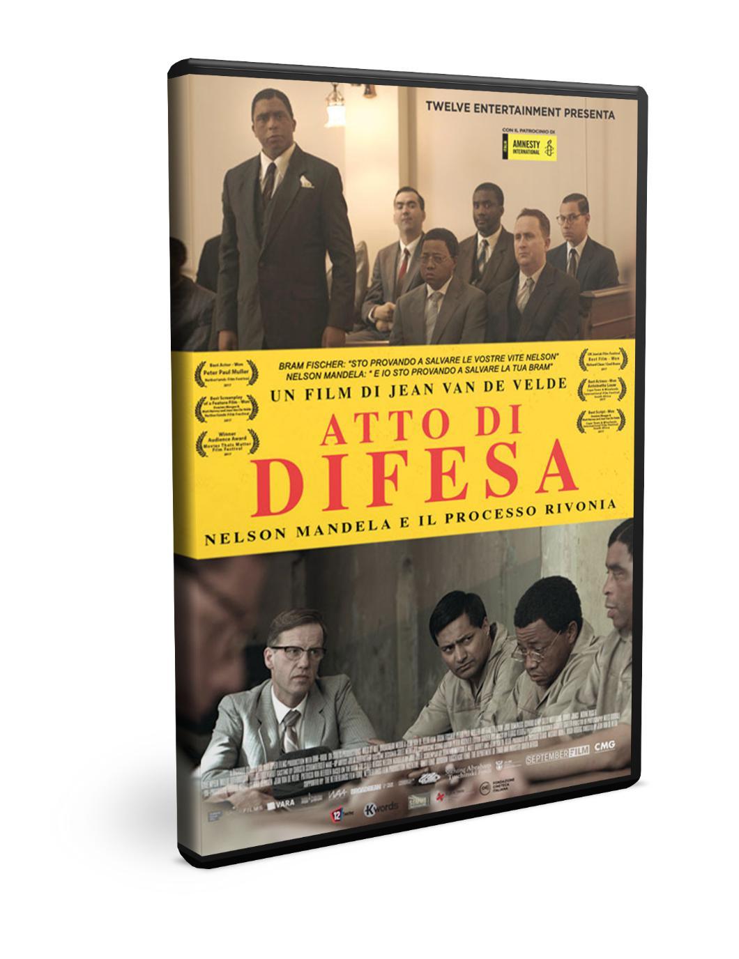 ATTO DI DIFESA - NELSON MANDELA E IL PROCESSO DI RIVONIA (DVD)