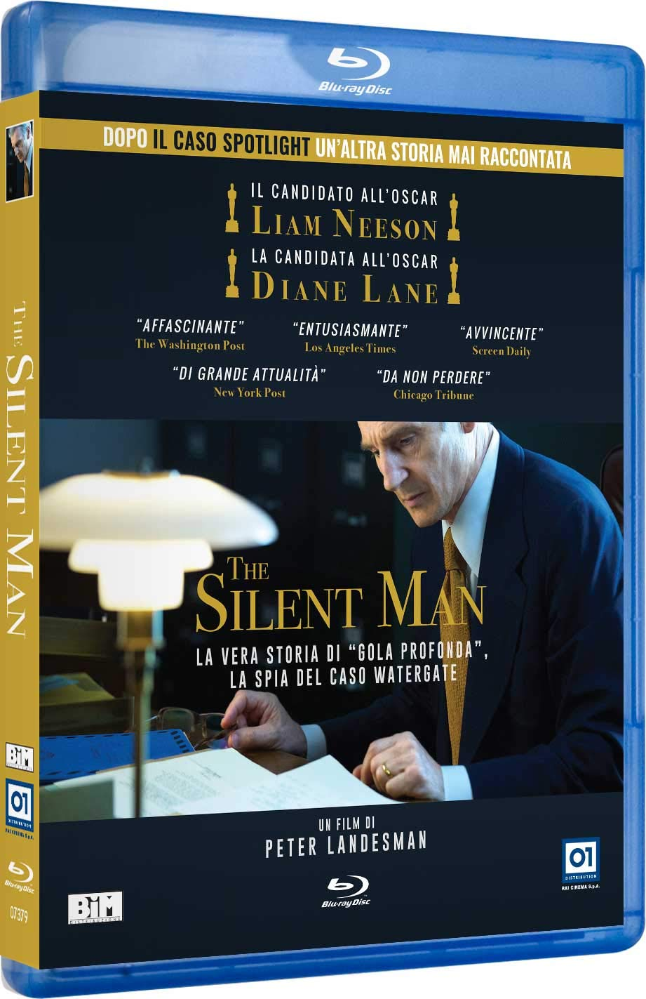 THE SILENT MAN - BLU RAY