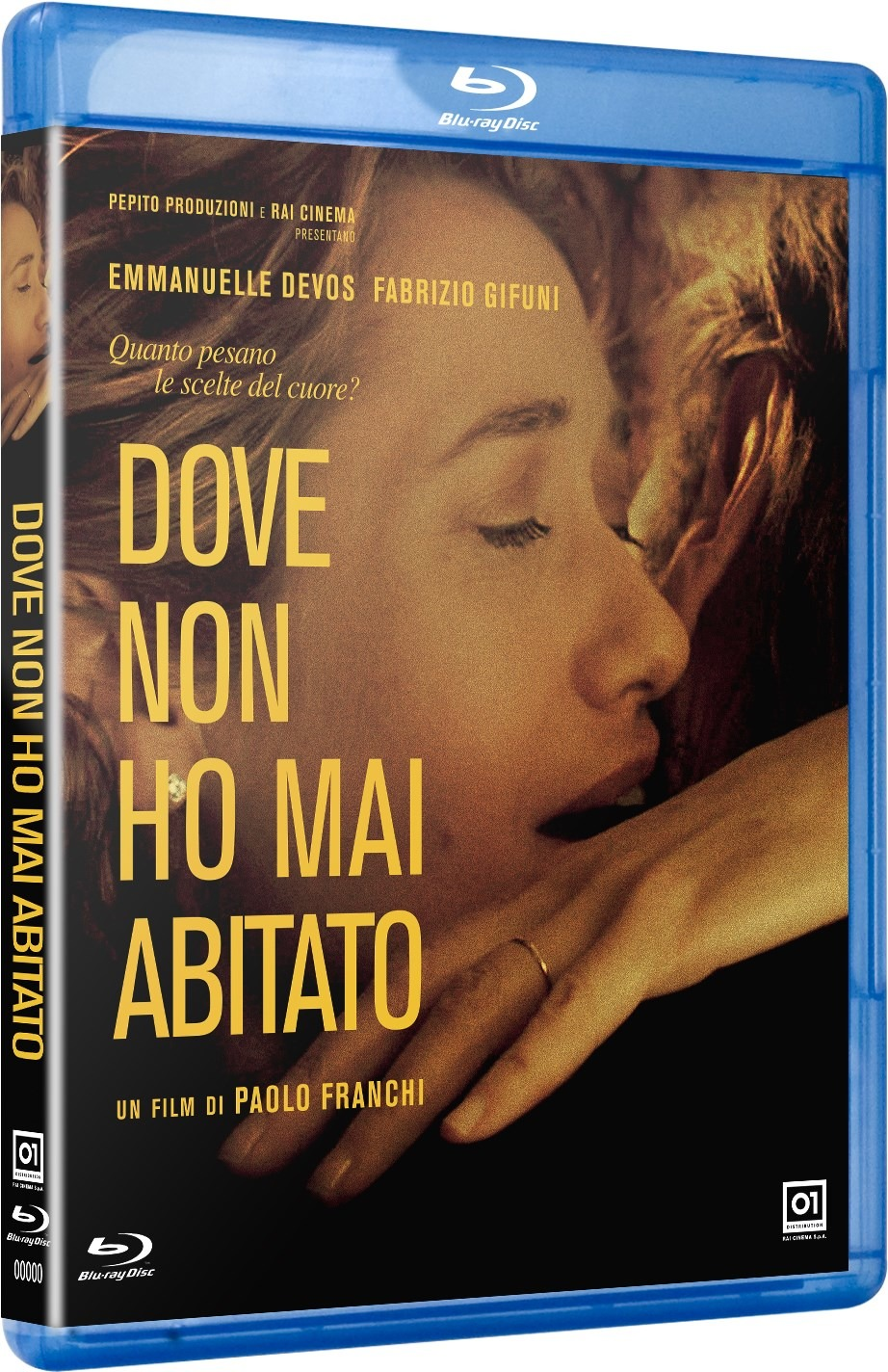 DOVE NON HO MAI ABITATO - BLU RAY