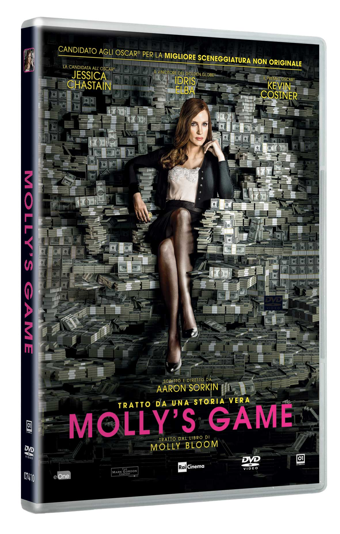MOLLY'S GAME (DVD)