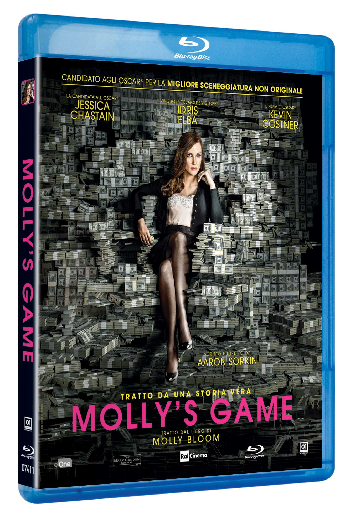 MOLLY'S GAME - BLU RAY