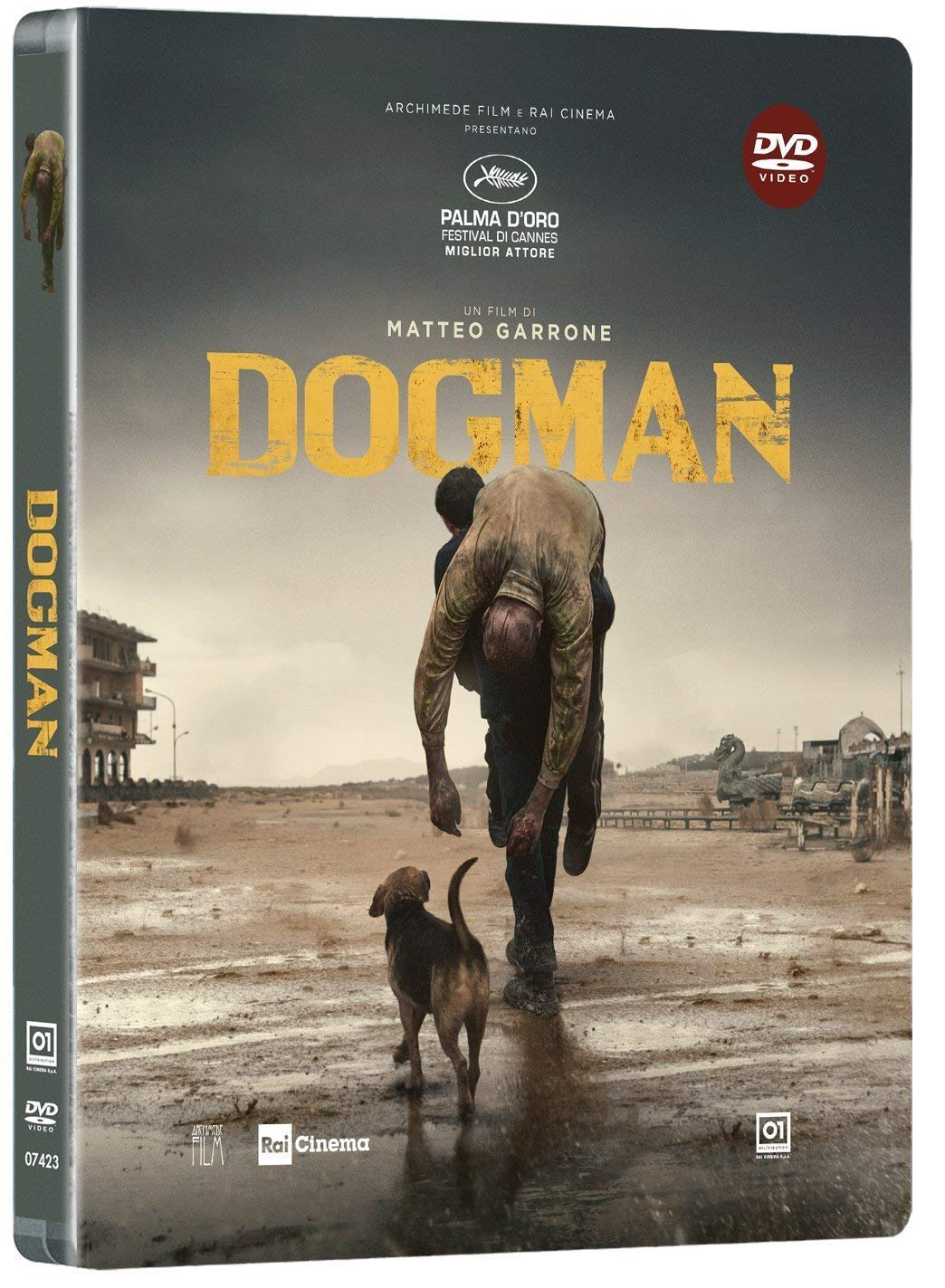 DOGMAN (LTD STEELBOOK) (DVD)