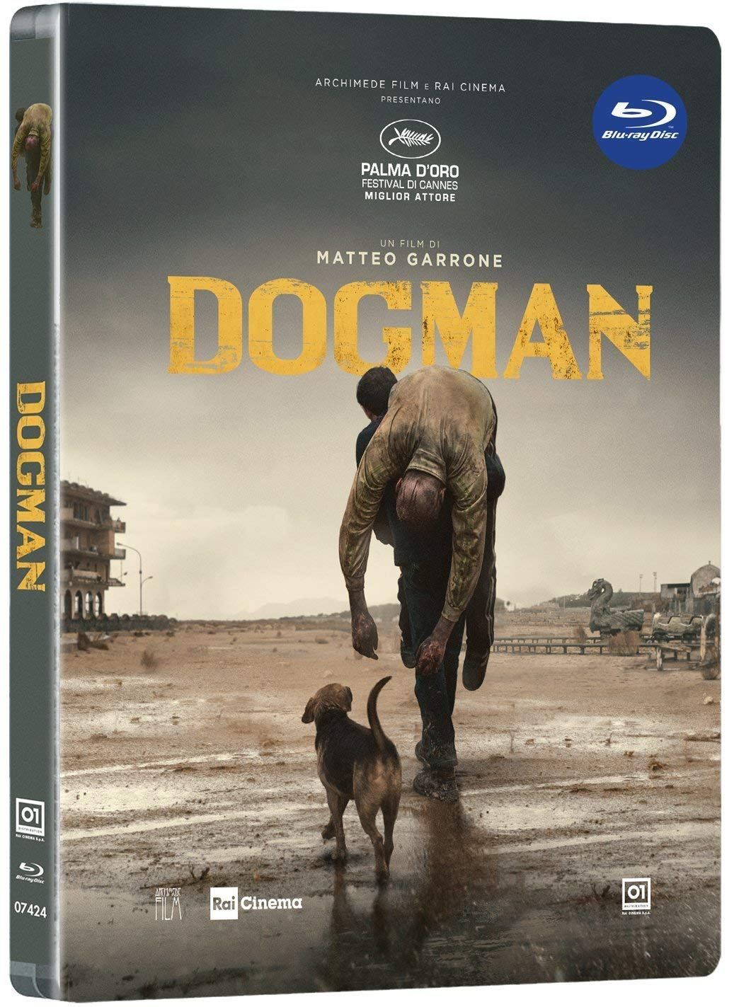 DOGMAN (LTD STEELBOOK) - BLU RAY