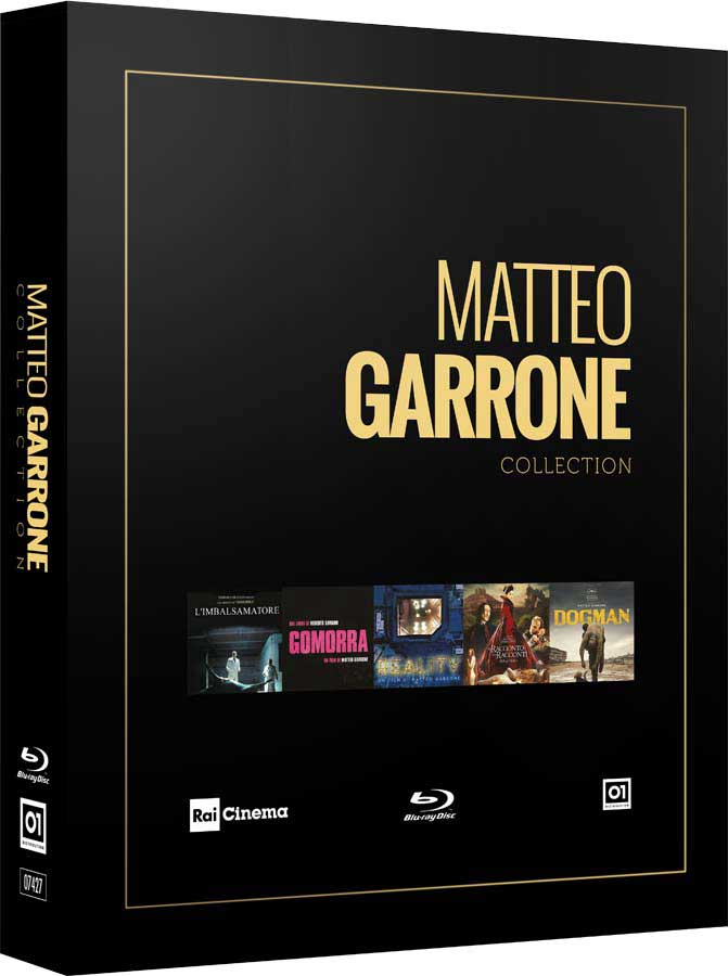 COF.MATTEO GARRONE COLLECTION (5 BLU-RAY)