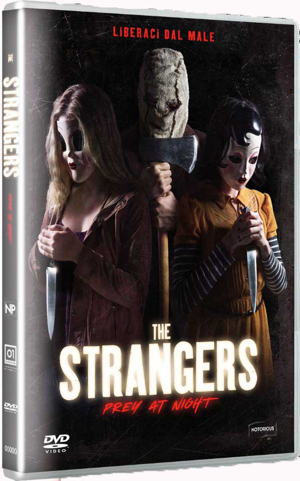 THE STRANGERS - PREY AT NIGHT (DVD)