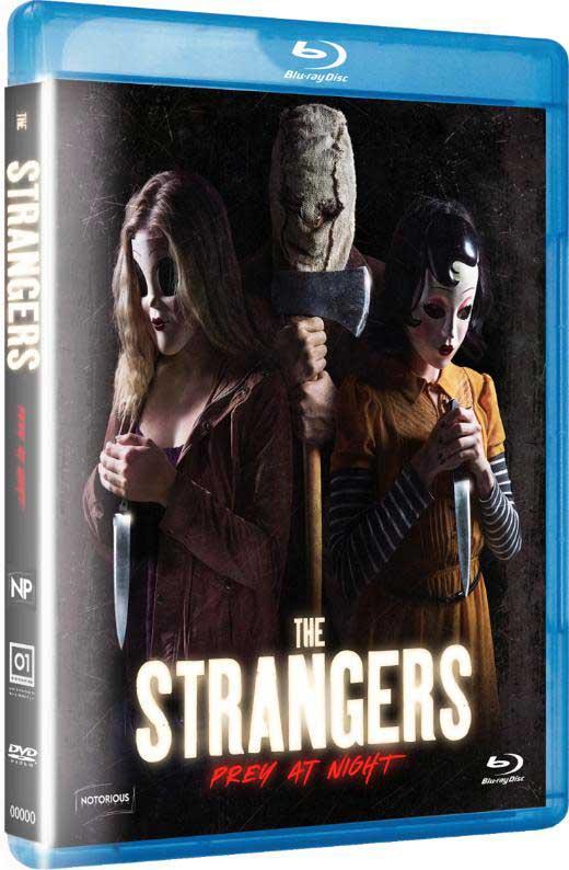 THE STRANGERS - PREY AT NIGHT- BLU RAY