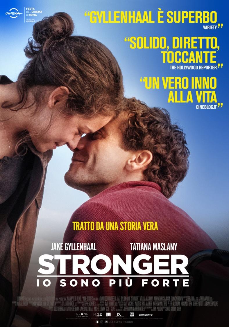 STRONGER - IO SONO PIU' FORTE - BLU RAY