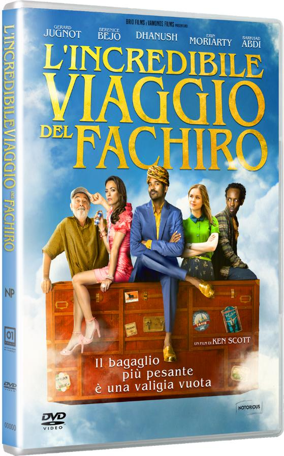 L'INCREDIBILE VIAGGIO DEL FACHIRO (DVD)