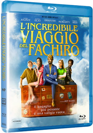 L'INCREDIBILE VIAGGIO DEL FACHIRO - BLU RAY (DVD)