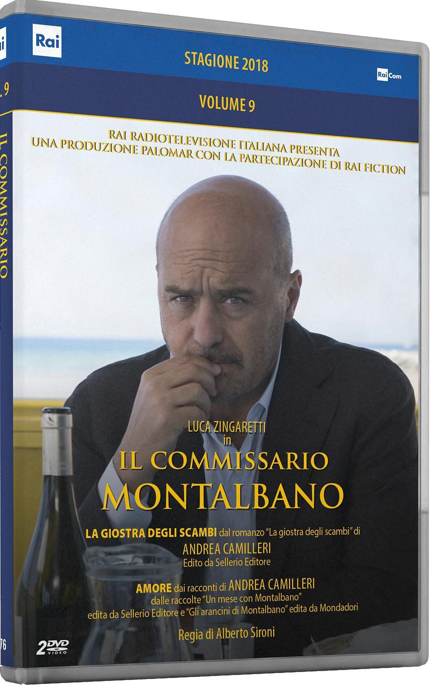COF.IL COMMISSARIO MONTALBANO - STAGIONE 2018 (2 DVD) (DVD)