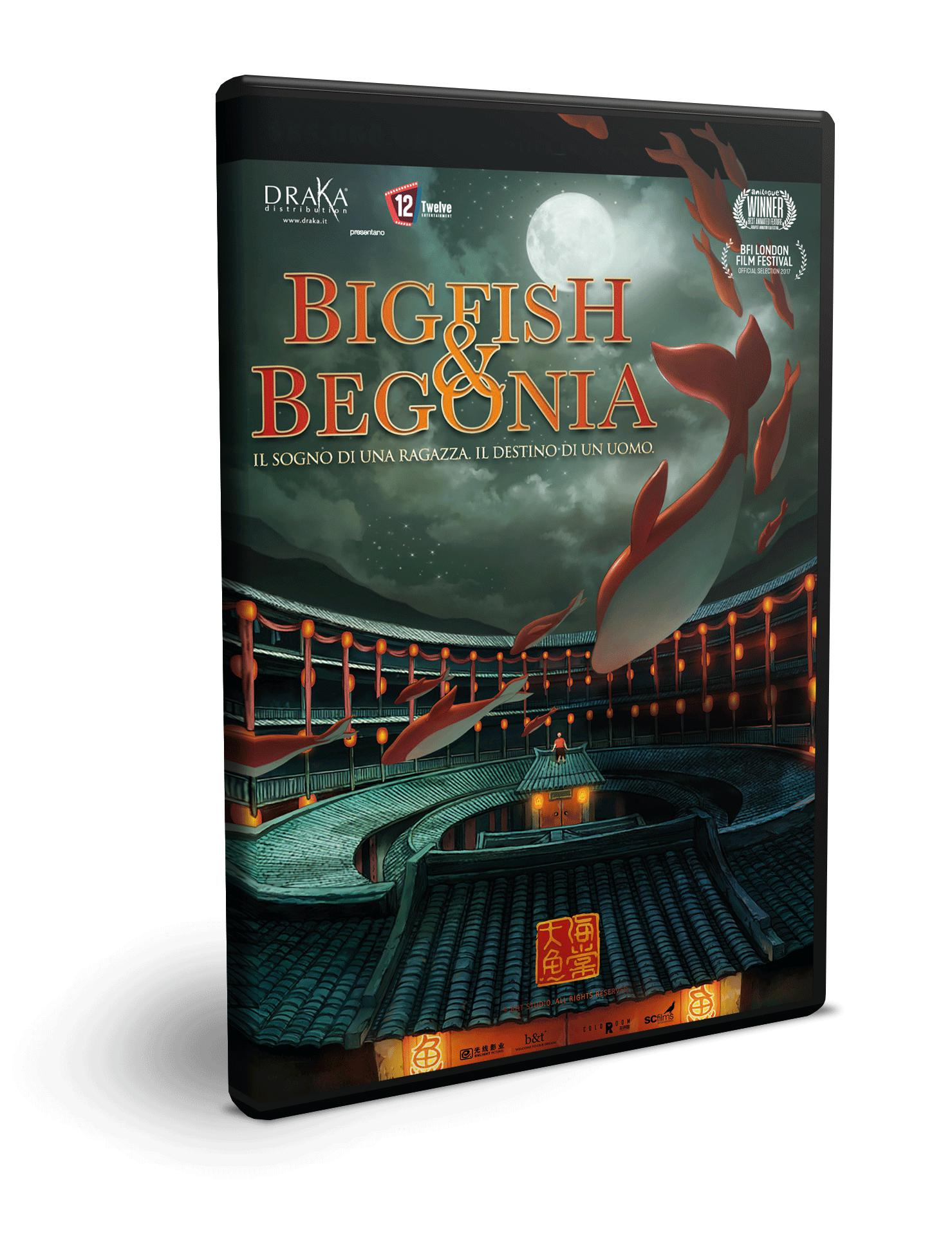 BIG FISH & BEGONIA - BLU RAY