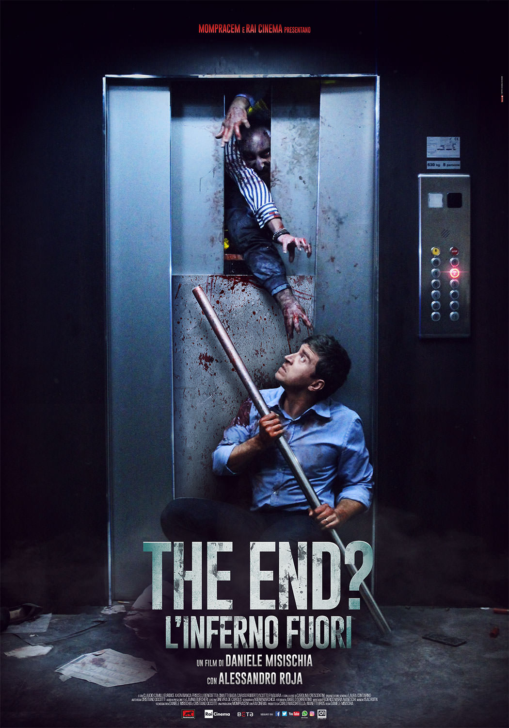 THE END ? - L'INFERNO FUORI - BLU RAY