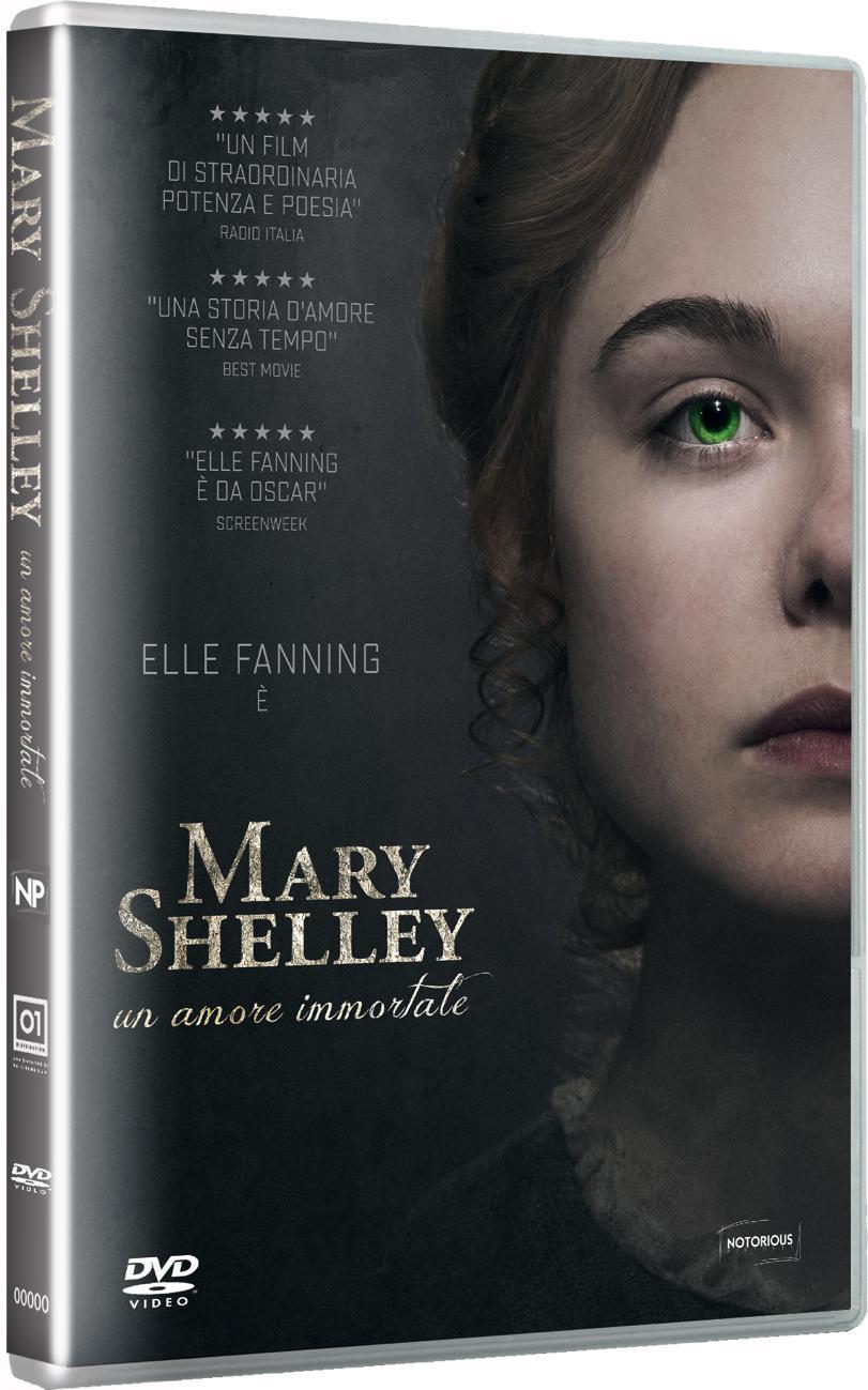MARY SHELLEY - UN AMORE IMMORTALE (DVD)