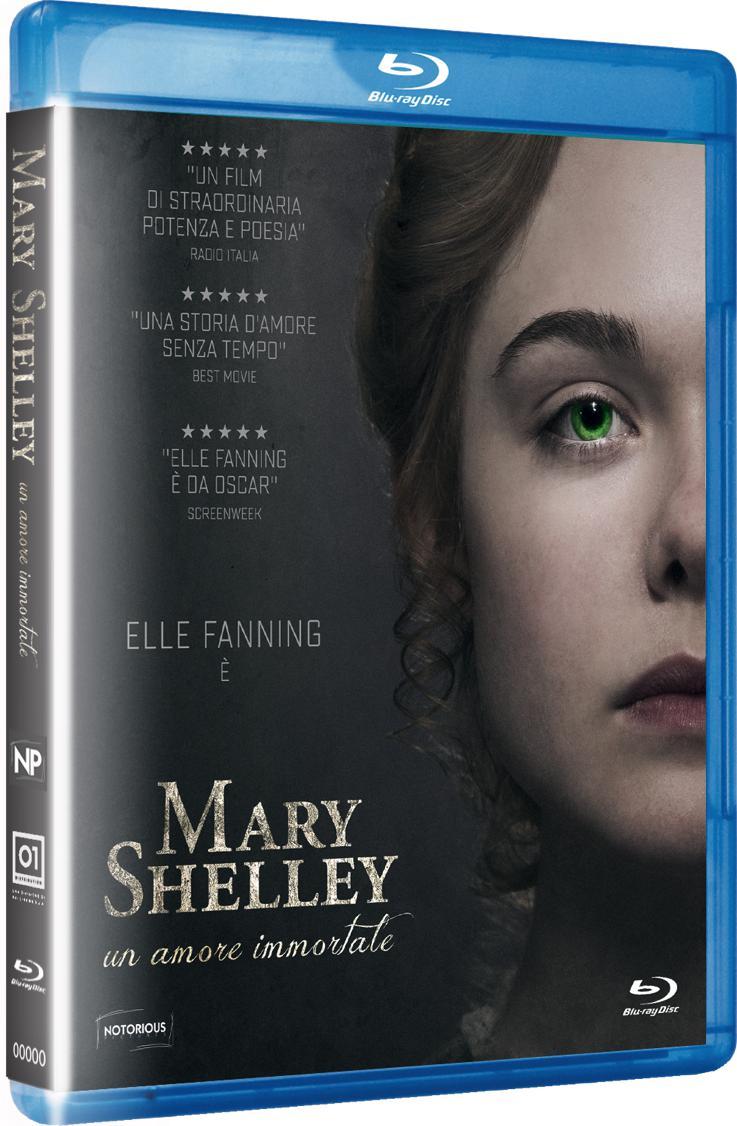 MARY SHELLEY - UN AMORE IMMORTALE - BLU RAY
